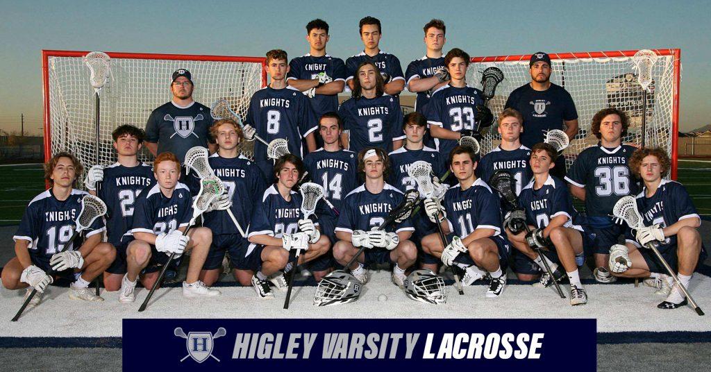 higley 2020 varsity lacrosse team